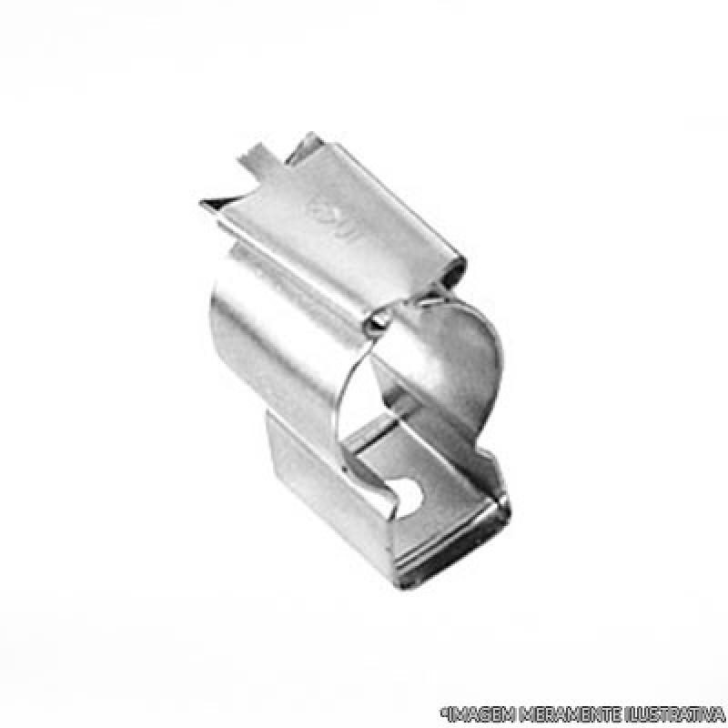 Abraçadeira D Inox Maringá - Abraçadeira com Cunha Tipo D