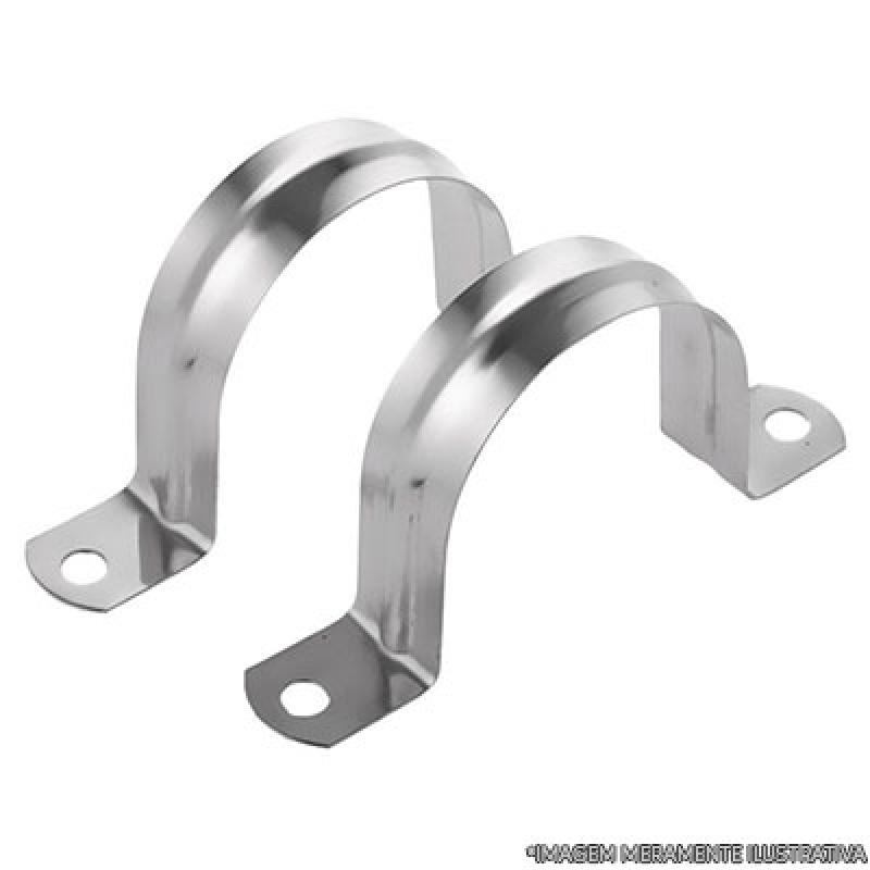 Abraçadeira Tubo de Aço CEU AZUL - Abraçadeira para Tubos de Pvc